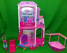 2011 Mattel Barbie 2 Story Beach House Playset Gift
