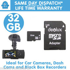 32GB TF Flash Micro SD SDHC Class10 Memory Card for Latest 1080p Car DVR DashCam