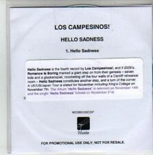 (CG331) Los Campesinos!, Hello Sadness - 2011 DJ CD