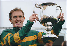 Tony McCoy SIGNED Autograph Photo Jockey AFTAL COA Champion Winner Authentic