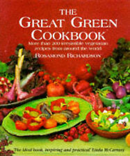 The Great Green Cookbook By Rosamond Richardson