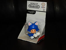 World of Nintendo Jakks Pacific Cat Toad Collectible Figure Mario Free Shipping