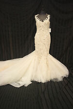 Atelier Pronovias Verdana Wedding Gown Bridal Dress sz 12  NWT