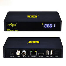 V8 Angel Amlogic S805 Android 4.4 TV Box DVB-S2/T2 /C HD Satellite Receiver free