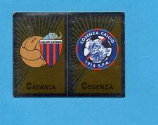 PANINI CALCIATORI 2002-03- Figurina n.487- CATANIA+COSENZA - SCUDETTO -NEW