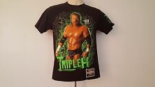 Fifth Son Authentic WWE Triple H Championship Collection Black Wrestling T-Shirt