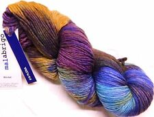 Gorgeous Multis! PLENA LG Skein 210yd Malabrigo WORSTED X-Soft MERINO Wool YARN