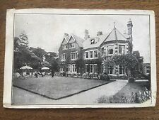 Early Postcard Putting Green Golfing Golf Club Building House Stately Home