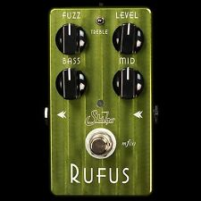 NEW SUHR EFFECTS RUFUS FUZZ PEDAL FOR GUITAR & BASS / VINTAGE & MODERN TONE