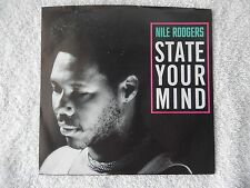 "Nile Rodgers ""State Your Mind/Stay Out Of The Light"" Picture Sleeve 45 Record"