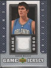 DARKO MILICIC 2007-08 UPPER DECK GAME USED JERSEY CARD #GJ-DM