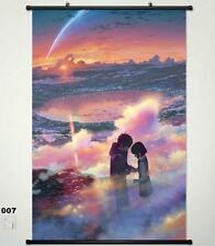 Your Name. taki Miyamizu Mitsuha Home Decor Poster Wall Scroll New Year Gift 007