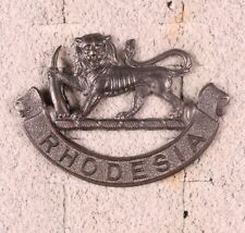 Army Badge:  South Rhodesia General Service - nhm, bronze finish