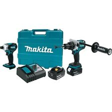 MAKITA 18V 18 volt  xt252tb Brushless hammer drill impact driver Combo Kit NEW