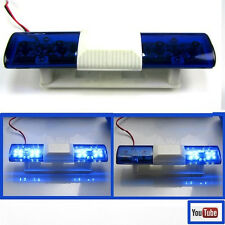 1/10 1/16 Scale RC Police Strobe Flashing Rotation Light Bar Kit TOYZ 672