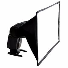Portable Universal Photo Flash Diffuser Softbox for Speedlights, 6 x 8 Inches
