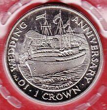 Gibraltar 1 Crown 1991 Schiff Royal Yacht Britannia
