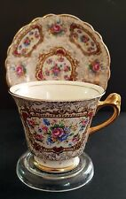 "EXTREMELY RARE Antique 1930's James Kent Tea cup And Saucer ""POMPADOUR"" England"