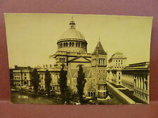 Old Postcard MA Boston First Church of Christ Scientist