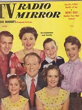 APRIL 1955 TV RADO MIRROR vintage magazine ART LINKLETTER and FAMILY