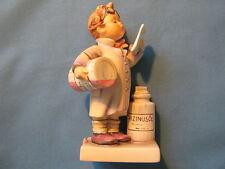Hummelfigur 322 The Pharmacist - Castor oil Little Pharmacist - older - 1. Wahl