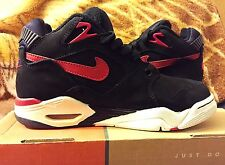 Nike Air Bound Black Red Athletic Casual Sneaker US Mens Size 6 Only Worn Once!