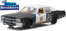 Greenlight 1/24 1974 Dodge Monaco BluesMobile Blues Brothers Diecast 84011