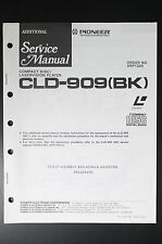 PIONEER CLD-909 (BK) Original Additional Service-Manual/Anleitung! o45