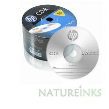 50 hp authentique argent top blanc non imprimable cd-r 52x 700MB film plastique CR0070B