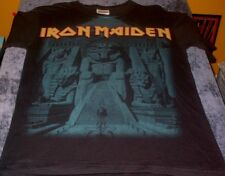 IRON MAIDEN POWERSLAVE T-SHIRT S Black Metal Hardcore Heavy Mummy