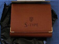 BRAND NEW  S-TYPE  JAGUAR GENUINE DOCUMENT WALLET / FOLDER FOR SERVICE BOOK PACK
