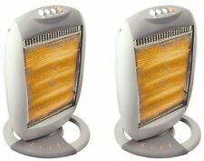 2x Electric Heaters Portable Thermo Home Heater Hot Warm Winter Machine Infrared