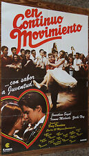 Used - Cartel de Cine  EN CONTINUO MOVIMIENTO  Vintage Movie Film Poster - Usado