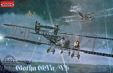 GOTHA G.V A/B KASTENSTEUEZUNG - WW I STRATEGIC BOMBER (GERMAN MKGS) 1/72 RODEN
