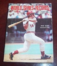 The Sporting News  World Series Records Pete Rose 1975
