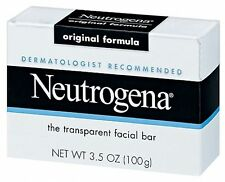 Neutrogena 3.5 oz. Acne-Prone Skin Formula Transparent Facial Cleansing Bar Soap