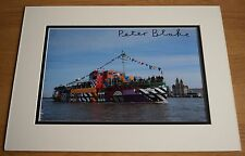 Peter Blake SIGNED autograph 16x12 LARGE photo display Beatles Music Art COA