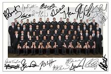 NEW ZEALAND ALL BLACKS WORLD CUP 2015 SQUAD RUGBY SIGNED PHOTO PRINT