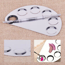 Stainless Steel Cosmetic Face Makeup Palette Spatula Foundation Mixing Tool DIY