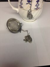 Border Collie 2inch Tea Ball Mesh Infuser Stainless Steel Sphere Strainer D16p