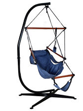 Hammock C Frame Stand Solid Steel Construction For Hanging Air Porch Swing