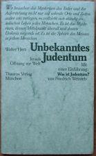 Walter Herz Unbekanntes Judentum. Israels Öffnung zur Welt