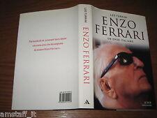 LIBRO/BOOK=ENZO FERRARI UN EROE ITALIANO=FORMULA 1 F.1=LEO TURRINI=MONDADORI=