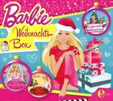 BARBIE - WEIHNACHTS-BOX  ZAUBERHAFTE WEIHNACHTEN/DER NUSSKNACKER/+  3 CD NEU