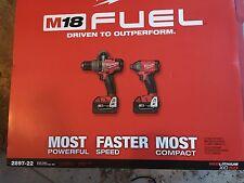 Milwaukee M18 Fuel Brushless  Combo Kit 2897-22