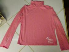 Harley Davidson Studded Long Sleeve Turtleneck Shirt ~ Cycle Queen ~ Large Pink