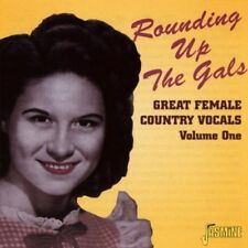 ROUNDING UP THE GALS-GREAT FEMALE COUNTRY VOCALS - ANITA CARTER -  CD NEU