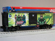 LIONEL JUSTICE LEAGUE GREEN ARROW BOXCAR marvil 6-82947 comics train 6-82949 NEW