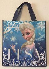 Frozen Elsa blue Reusable Tote Shopping Gift Bag New bag