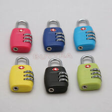 Pleasing Luggage Suitcase Travel Security Lock 3 Digit Combine For TSA 335 CN